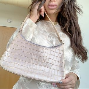 Vintage Kenneth Cole baby pink purse